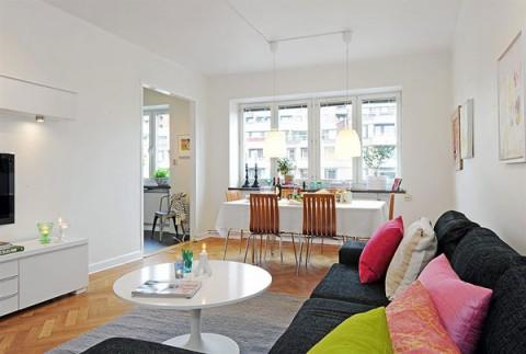 Un piso con encanto propio - Pisos decorados con encanto ...
