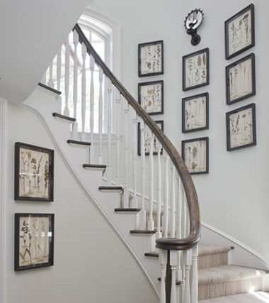 Ideas para la decoración de escaleras   interiores