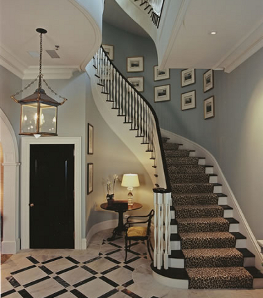 Ideas para la decoraci n de escaleras interiores - Como decorar una escalera interior ...