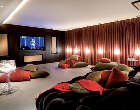 Ideas para una sala de cine en casa - Sala de cine en casa ...