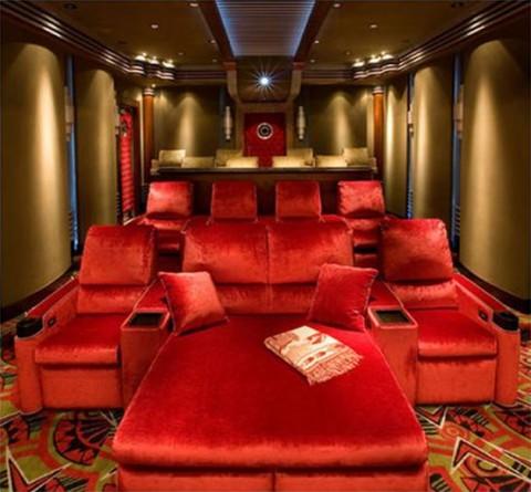 Ideas para una sala de cine en casa for House with home theater for sale