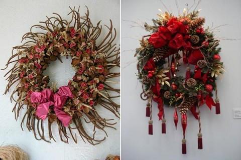 Ideas de coronas navideas para decorar