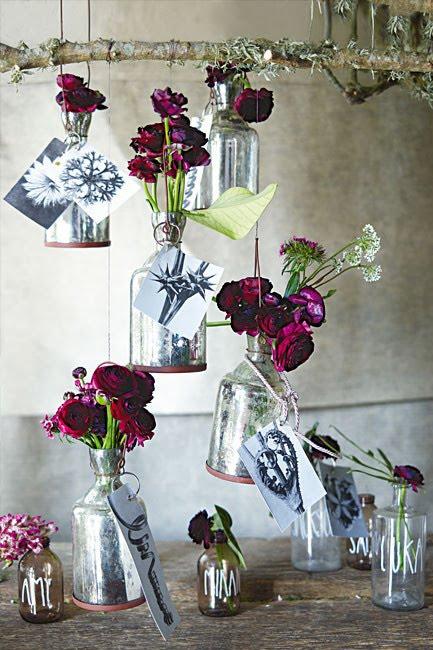 Con flores y plantas haz maravillas para las fiestas for Como hacer adornos con plantas naturales