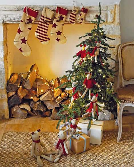 Decoraci n de navidad ideas para tu sal n for Muebles decorados de navidad