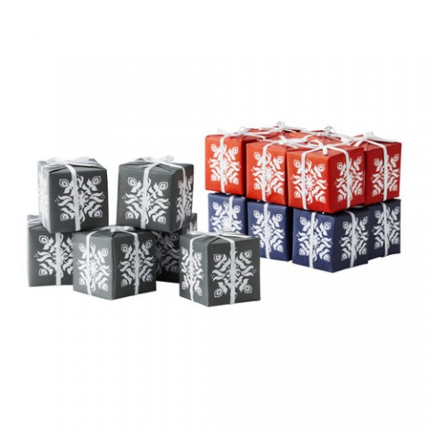 Decoración con paquetes de regalo, con cordón para colgar Precio por 6 unidades € 1,99