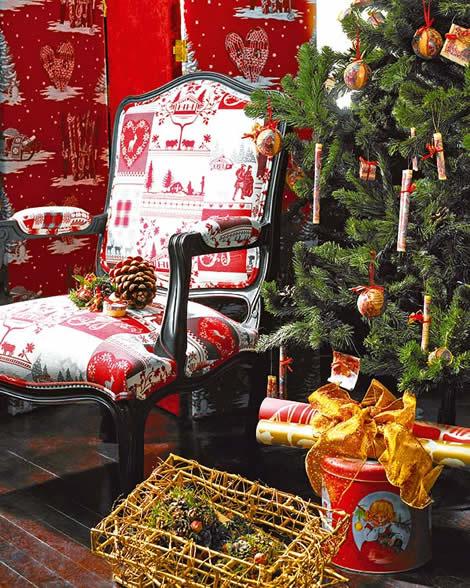 Decoraci n de navidad ideas para tu sal n - Ideas para una fiesta de navidad ...