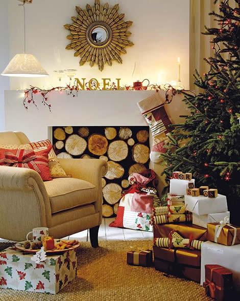 Decoración de navidad ideas para tu salón3g