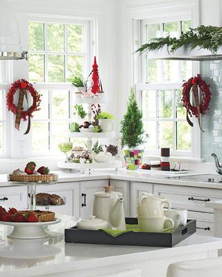 La decoracion navideña en la cocina-03