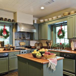La decoracion navideña en la cocina-04