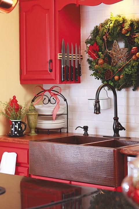 La decoracion navideña en la cocina-06
