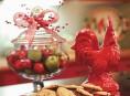 imagen La decoracion de fin de año en la cocina