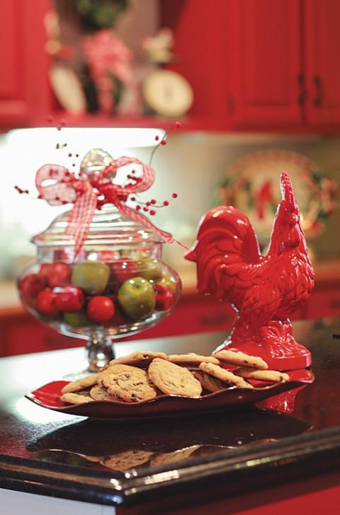 La decoracion navideña en la cocina-07