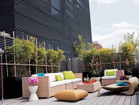 Terrazas y balcones en apartamentos for Apartamentos modernos minimalistas
