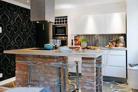 Apartamentos peque o moderno y confortable - Cocina rustica barata ...