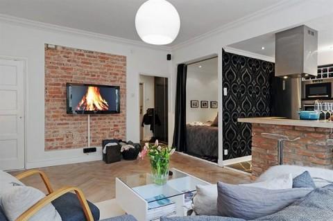 Apartamentos_ pequeño, moderno y confortable-13