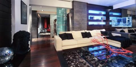 Apartamentos una excentrica y atrevida decoracion for Decoracion departamento soltero