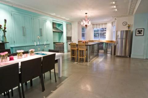 Casas el color en toda su expresion for Comedor y cocina en un mismo ambiente