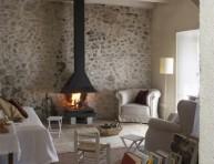 imagen Especial chimeneas: ideas para decorarlas