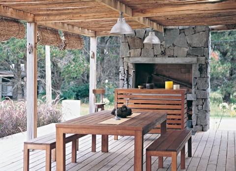 Galerias 15 ideas para armarlas en casa for Parrilla casa de campo