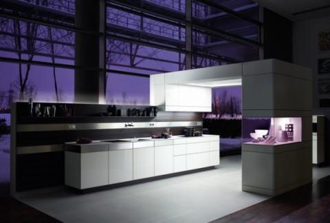 Cocinas modernas en color violeta y púrpura-01