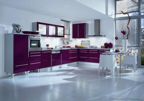 Cocinas modernas en color violeta y púrpura-04