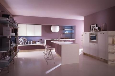 Cocinas modernas en color violeta y púrpura-06