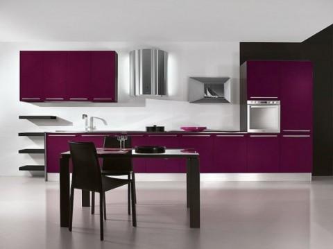 Cocinas modernas en color violeta y púrpura-08