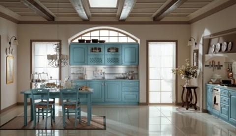 Delicadas cocinas en tono azul-02