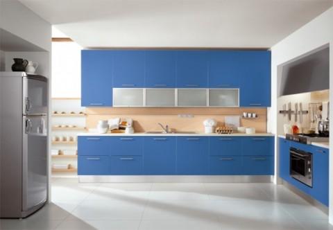Delicadas cocinas en tono azul-03