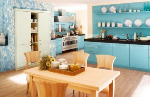 Delicadas cocinas en tono azul-04