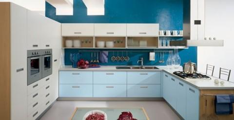 Delicadas cocinas en tono azul-05