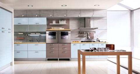 Delicadas cocinas en tono azul-06