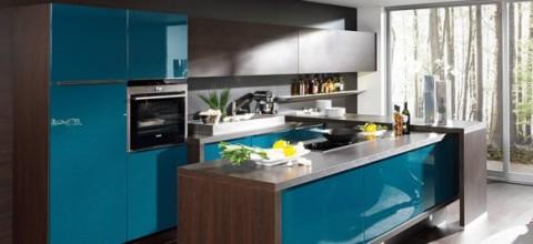 Delicadas cocinas en tono azul-14