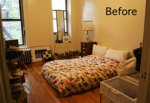 La transformación de una habitación