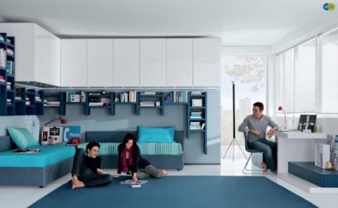 Sofisticadas habitaciones para j venes for Estudiar decoracion de interiores a distancia