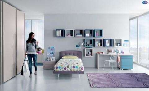 Sofisticadas habitaciones para j venes - Decoracion habitacion joven ...