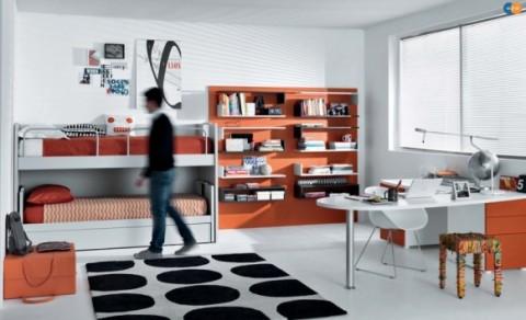 Sofisticadas habitaciones para jóvenes-11