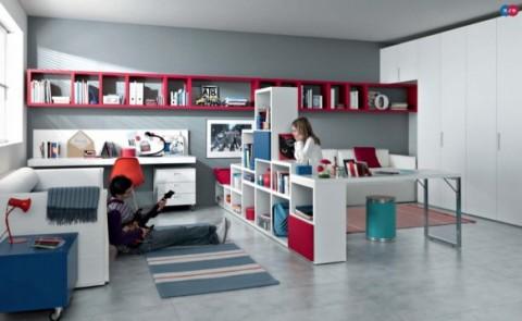 Sofisticadas habitaciones para jóvenes-14