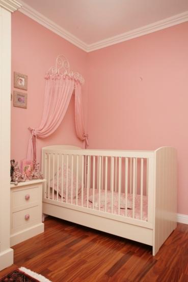 Tierna habitacion en rosa para tu beba1