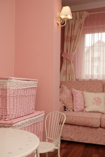 Tierna habitacion en rosa para tu beba2