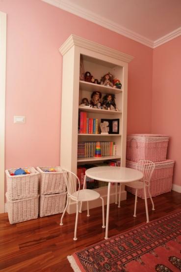 Tierna habitacion en rosa para tu beba4