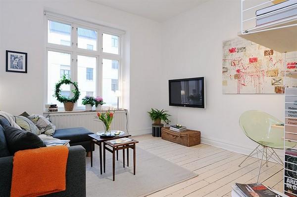 Un peque o apartamento muy bien planeado 01 gu a para for Apartamento muy pequeno