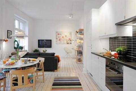 Un peque o apartamento muy bien planeado for Remodelacion de apartamentos pequenos