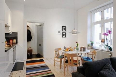 Un pequeño apartamento muy bien planeado-11