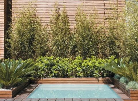 Una terraza con piscina para disfrutar for Mini piscinas para terrazas