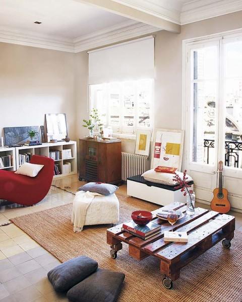 Acogedor piso antiguo remodelado en barcelona - Amueblar piso completo barcelona ...