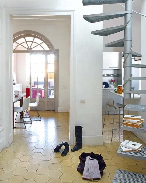 Acogedor piso antiguo remodelado en Barcelona-10
