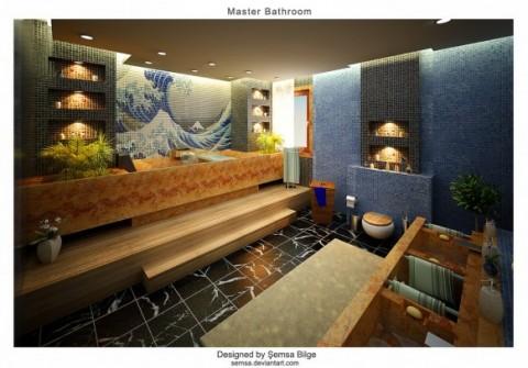 Baños_ dieciséis ideas de diseño para inspirarnos-15
