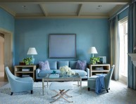 imagen Exquisita sala en azul palido