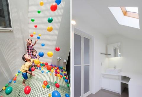 Una casa pensada en los ni os for Lavamanos para ninos